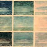 Am Meer-2   1983  Farbaquatinta   60cm x 80 cm
