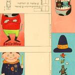 Bastelbogen in der ABC-Zeitung / DDR-Kinderzeitschrift im Verlag Junge Welt 1980