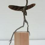 Laufvogel  2014  /  h 39,5cm  b 15cm  t 12,5cm