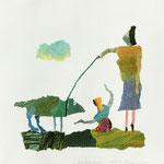 Das Haustier /  2014 /   41 x 38,5cm