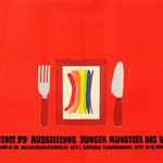Ausstellungsplakat für den VBK-DDR / Junge Künstler 1979