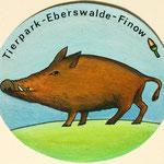 Aufkleber für Tierpark Eberswalde 1979