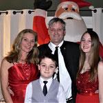 Familie Grossenbacher in Feststimmung