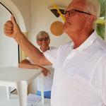 Am Ziel Casa Verde): Penne stapeln