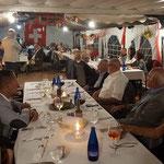 Dinner im Chalet Suizo