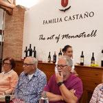 Beim köstlichen Mittagessen bei Castaño