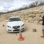 4. Posten (Finca Klara): Geschicklichkeit mit dem Auto
