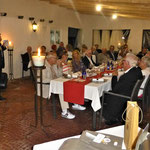Begrüssung der Gäste durch den Präsidenten Enzo Mengassini