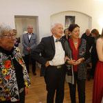Birgit Schmidbauer und Dieter Beyer werden als Ordentliche Mitglieder aufgenommen
