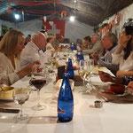 Gala-Dinner im Chalet Suizo