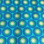 Blumen Blau/grün