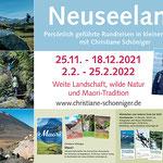 Neuseeland mit Christiane Schöniger
