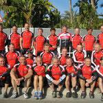 Mannschaftsfoto Trainingslager Mallorca 2014