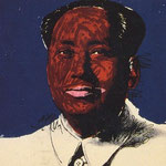 MAO, Silkscreen on paper, 91,4 x 91,4 cm 1972 / unique // stamped on verso by Styria Studios New York