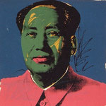 MAO, Silkscreen on Beckett High White paper, 91,4 x 91,4 cm, 1972 / unique // stamped on verso by Styria Studio, Inc., New York