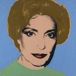 A VIDORIS, Synthetic polymer paint on canvas, 66,08 x 66,08 cm, 1977 / unique // stamped on verso by The Estate of Andy Warhol