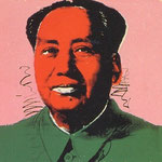MAO, Silkscreen on Beckett High White paper, 91,4 x 91,4 cm, 1972 / Ed. of 250 // signed and numbered in pencil on verso