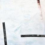 Hoch hinaus, Tusche und Acryl, 190 x 190 cm, 2015