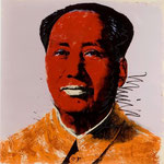 MAO, Silkscreen on paper, 91,4 x 91,4 cm, 1972 / unique // stamped on verso by The Andy Warhol Art Authentication Board