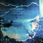 X, Öl auf Leinwand, 250 x 200 cm, 2013
