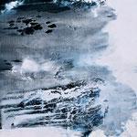 Abrasion II, Öl/ Acryl auf Leinwand, 130 x 130 cm, 2014
