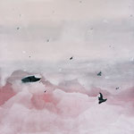 Discovery, Öl/ Acryl auf Leinwand, 130 x 130 cm, 2015