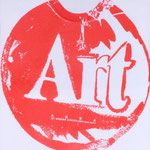 ART, Polymer paint on cotton, 50 x 50 cm, 1985 / unique // stamped on verso by The Estate of Andy Warhol