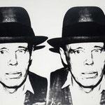 JOSEPH BEUYS,  Silkscreen on paper, 100 x 55 cm, 1980 / unique