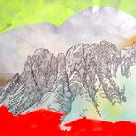 Intermediate Utopia 12, Mixed Media / Collage, 70 x 100 cm, 2015