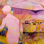 Serie: Goodbye Eldorado, Format: 120 x 150 cm, Öl auf Leinwand, 2015