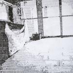 Serie: Grace Expectations, Format: 70 x 100 cm, Graphit auf Papier, 2015