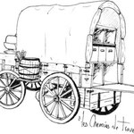 Dessins Régis Rodriguez - Tentes Western