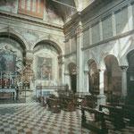 interno con prospettiva verso gli altari di San Benedetto e della Madonna