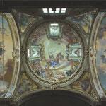 Panoramica della cupola e delle volte