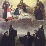 Exvoto per la scampata soppressione del monastero nel 1860