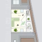 Verkaufspläne - Neubau einer Doppelhaushälfte mit unterirdischen 3 PKW-Stellplätzen, Düsseldorf-Ludenberg