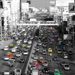 Amazing Thailand - Taxi traffic