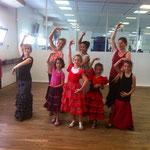 Flamenco avec Cécile