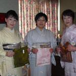 岐阜県下呂市の着物着付け教室「あゆみキモノ学院」はいから和生活。フォトギャラリー(新年会)