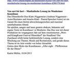 Ein Artikel auf lokalkompass.de vom 18. April 2013.