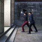 """Das Bild zum Programm """"Klatt Niggemeier halten dagegen ... mit Balladen und Protestliedern"""" Foto: Thomas Stelzmann"""