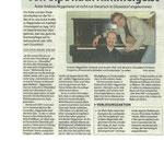 Ein Artikel aus dem Rhein-Bote Düsseldorf vom 18. April 2012