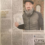 """Ein Artikel aus der WP/WR anlässlich des prämierten Buches """"Intrigenspiel"""", Januar 2019 – vielen Dank an Josef Schmidt."""