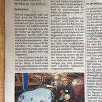 """Ein Artikel aus der WZ Düsseldorf anlässlich der Premiere des Programms """"Klatt Niggemeier ...machen Liebe"""", Oktober 2014"""