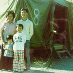 Home was Tent #8, Camp Pendleton, California, 1975