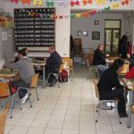 La sala del Circolo Barontini, nuova sede del torneo.