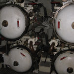 I quattro tubi lanciasiluri