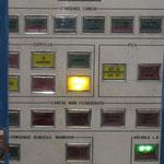 Particolare del quadro di comando tubi lanciasiluri