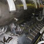 I motori termici connessi ai generatori.