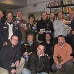 Foto di gruppo dei vincitori dei premi di consolazione.